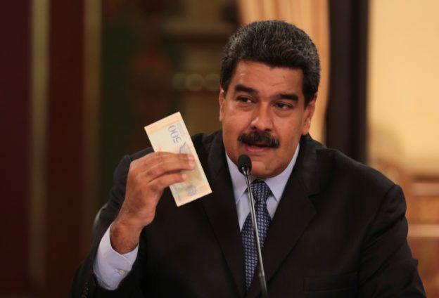 委內瑞拉 馬杜羅政府在去年嘗試推虛擬貨幣石油幣(Petro),及全新的法定貨幣 - 主權玻利瓦(sovereign bolivar)