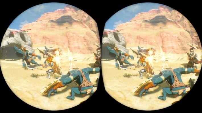 用 VR 看著自己被圍攻