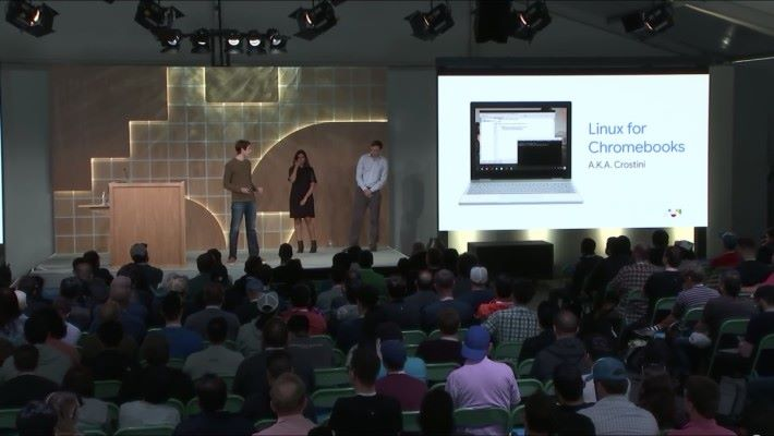 Google 發表 Linux for Chromebook ,今後的 Chromebook 都支援。