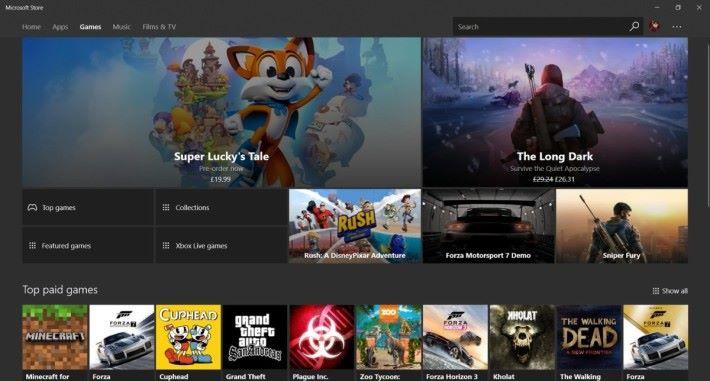 Win32 遊戲終於可以透過 Microsoft Store 推出