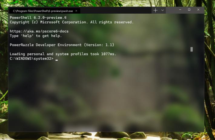 Windows Terminal 以 Tab 來分隔各個指令列介面