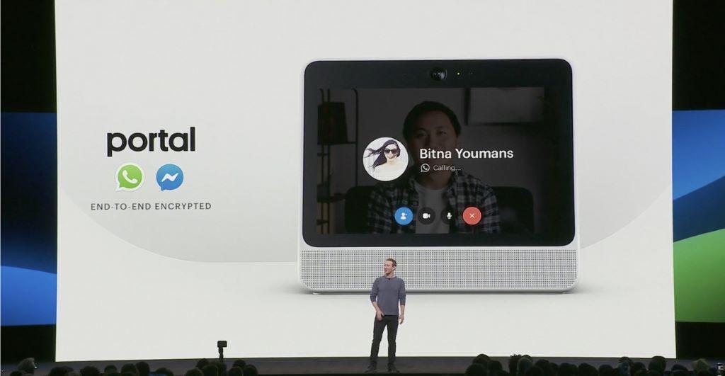 Facebook 近年開展數碼裝置事業,2018 年就推出視像通信裝置 Portal 。