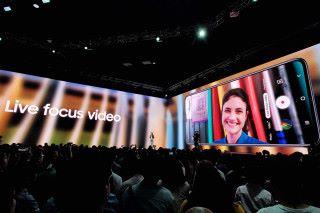 亦因為加入了 ToF 鏡頭,所以新增了「景深即時預覽影片」模式。