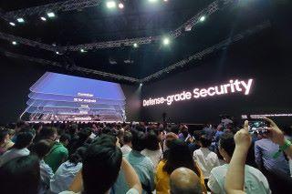 Galaxy A80 具備高保安性的屏幕指紋辨識功能。