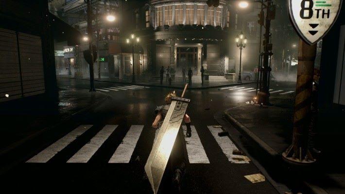 採用較為「貼地」的視點,可以見到街道的細節。