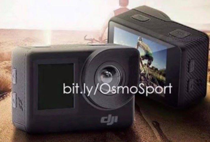 網上流傳 DJI 新運動相機的外型