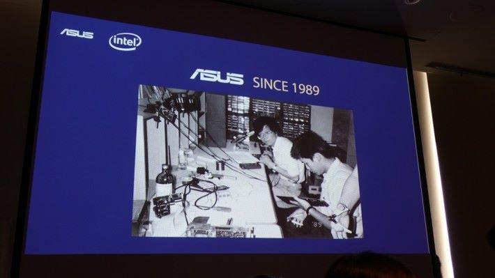華碩於 1989 年創立