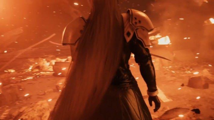 美形惡役 Sephiroth