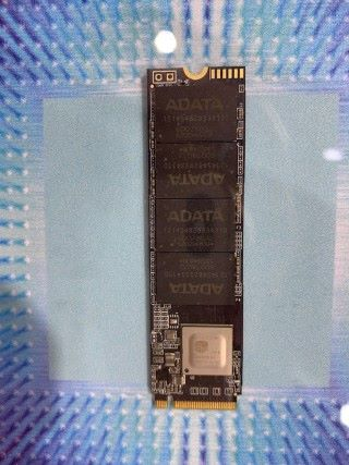 AData 是場內少數採用 SMI SM2267 主控產品方案。