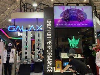GALAX 在 Computex 展位