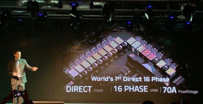 Gigabyte 宣稱發表世界首款真 16 相電 AMD X570 主機板