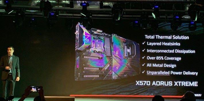 全球首片真 16 相電 AMD X570 主機板 X570 AORUS XTREME