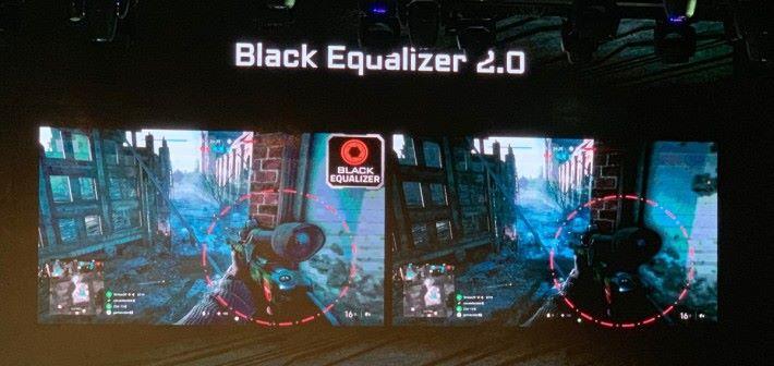 黑平衡2.0技術可解決遊戲過暗的問題