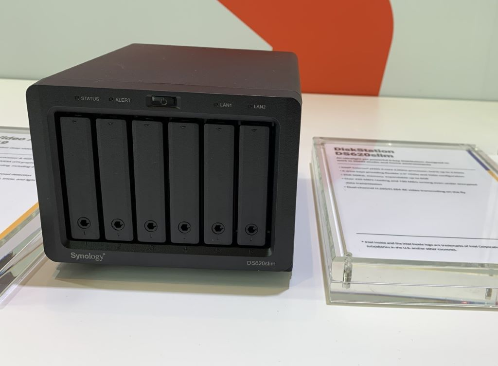 Computex 2019 】Synology 展示2 5 吋DS620slim 及高IOPS 伺服器