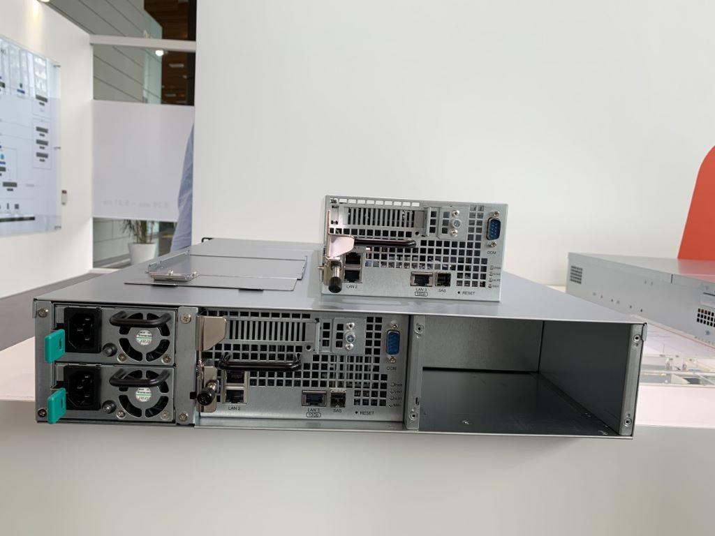 Computex 2019 】Synology 展示2 5 吋DS620slim 及高IOPS 伺服器