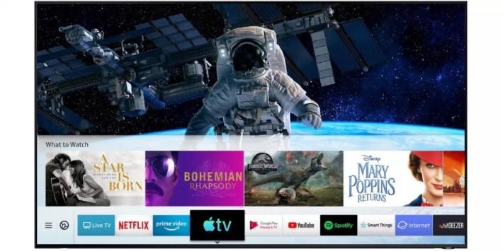 Samsung 同時為指定智能電視推出 Apple TV App 和 AirPlay 2 更新