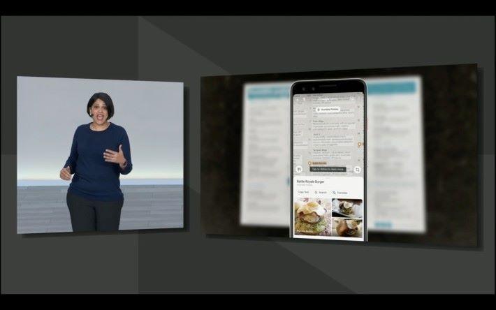 可以透過 Google Lens 搜尋餐廳裡受歡迎的菜色