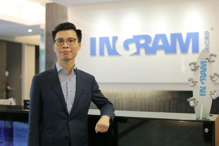 Ingram Micro 的 Simon Leung:我們會先替客戶進行 heat mapping,了解其實際需要,再度身訂制最好的網絡方案。