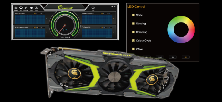 新型號具備 Turbo Engine 和 LED 燈光效果控制軟件。