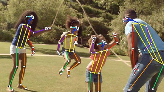 VisionPose 是運用 AI 透過 Webcam 來進行動態捕捉的技術
