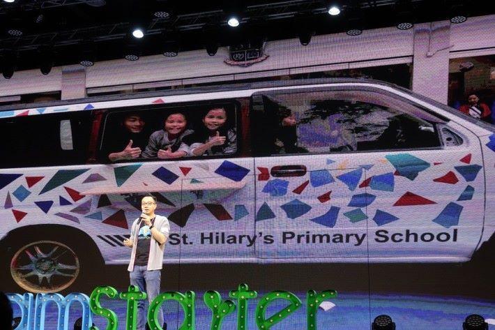 朱子穎從任職浸信 會天虹小學校長時推出 DreamStarter,DL版公 布當日,他表示德萃小 學學生於當中取得良好 成果。