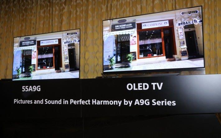 .改用X1 Ultramate 後,A9G 的畫面細緻度,顏色漸變,以及橫向移動的流暢度,都比另一品牌 OLED優勝。
