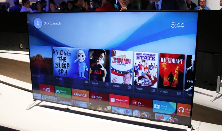 Sony 是其中一個較為人熟悉的 Android TV 品牌