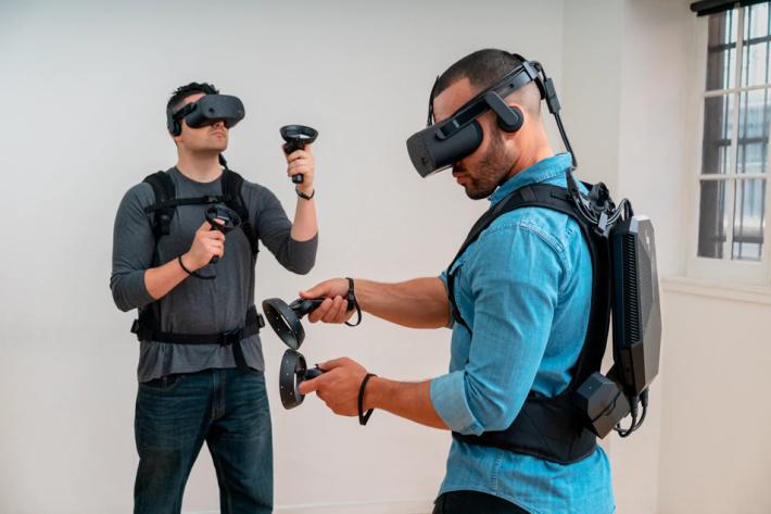 輕巧是 HP VR Backpack G2 的一大賣點