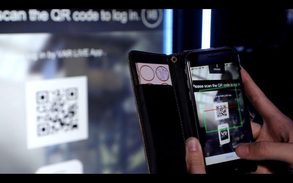 發入帳號後掃瞄 QR Code 就可以連動資料。
