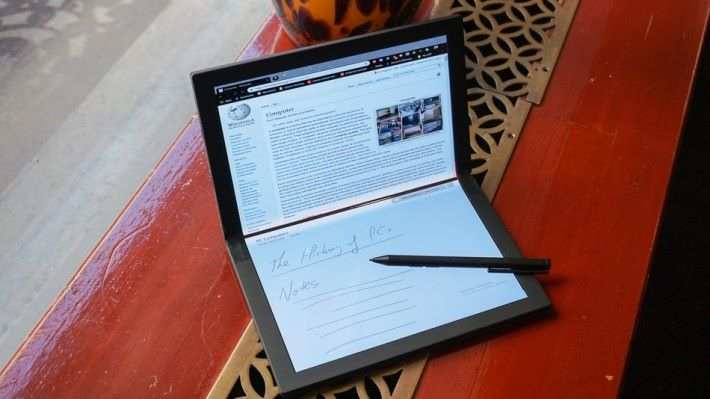 也可配搭手寫筆使用