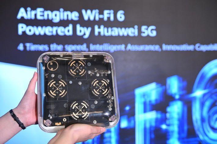 華為發布基於 5G 技術開發的 Wi-Fi 6 產品及全新 Wi-Fi 品牌 AirEngine。