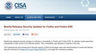 美國國土安全部亦發出警告