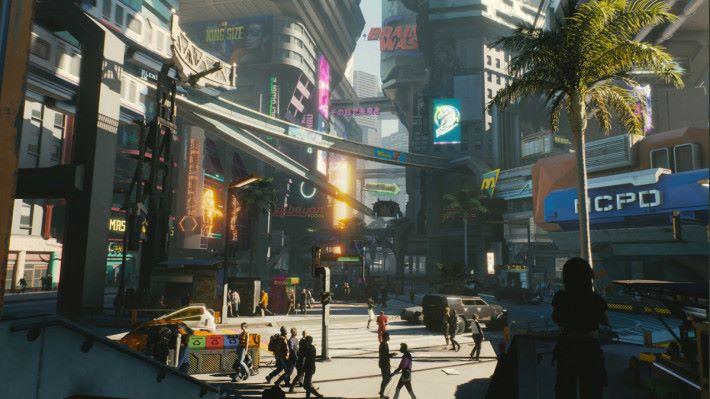 玩家要扮演 2077 年的一名非法傭兵 V 。