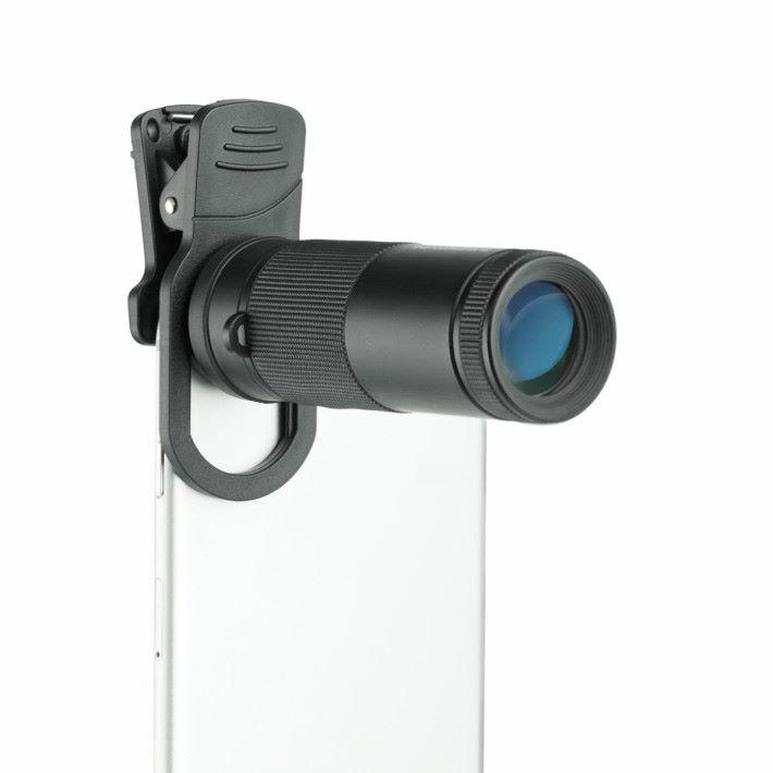 簡單將手機鏡頭變成遠攝長鏡頭。