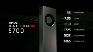 RX 5700的官方規格