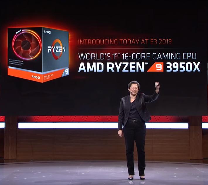 """在 E3 """"Next Horizon Gaming"""" 活動發佈殺手鐧級 Ryzen 9 3950X 16核心 CPU"""