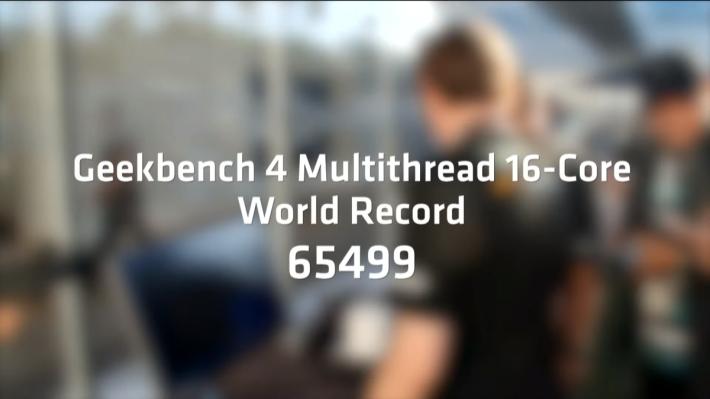 LN2 超頻後《Geekbench 4》得分達 65499 分