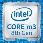 採用 Intel 第 8 代' Core m3 CPU。