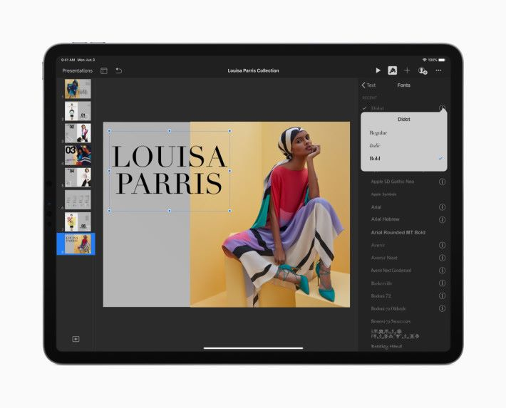 iPadOS 安裝字體給各程式㤦用,令 iPad 排版變得實用。
