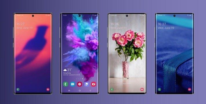 Galaxy Note 10 將會擁有極高的屏佔比。