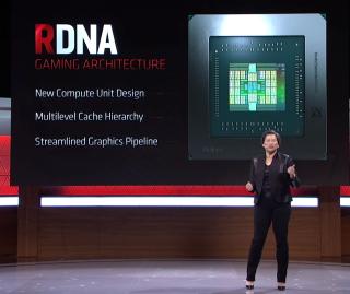 E3 活動並未公佈 RDNA 架構的詳細內容,僅把Computex 公佈的資料重複一次。