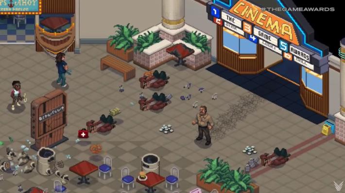 遊戲的美術風格有點復古
