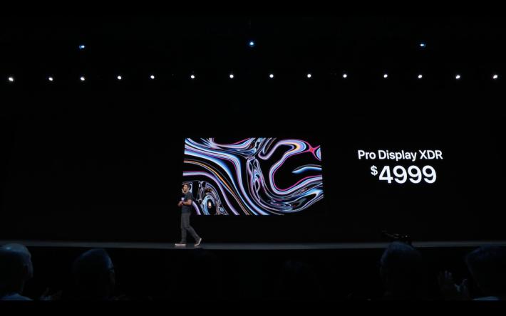 Pro Display XDR 基本售價為 4,999 美金,但不連支架部分,購買時記得要注意。