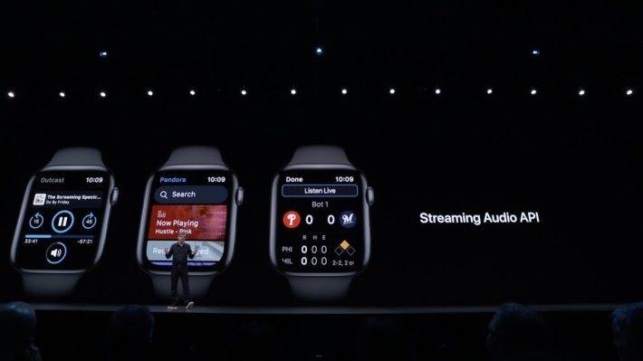 Streaming Audio API 讓開發人可以為 Apple Watch 製作收音機或運動直播程式