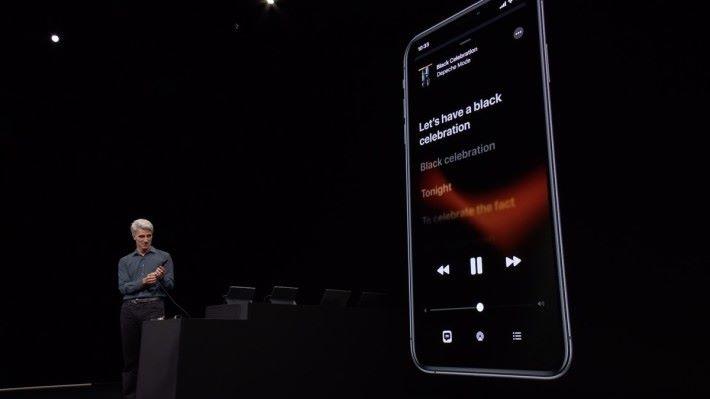 音樂 App 加入歌詞隨歌聲而 Highlight 的功能