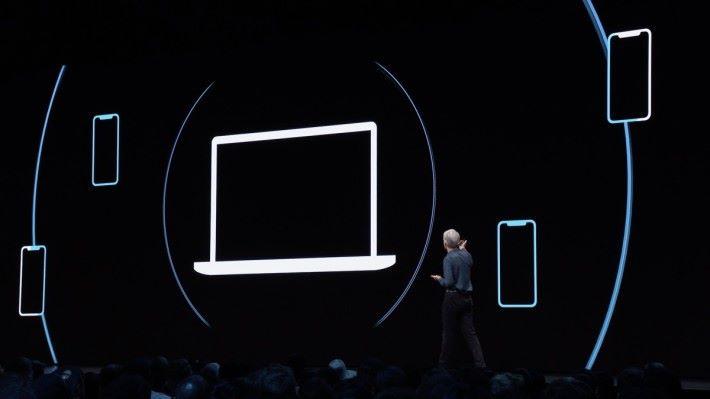 即使被盜電腦離線,也會暗中發出 iBeacon 加密訊號,周圍的 Apple 裝置收到訊號,都能向 iCloud 回報電腦的位置。