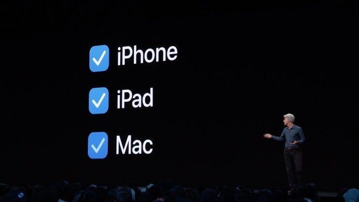 開發者只要在 XCode 勾選 Mac 為目標平台,重 Build 程式一次,即能移植 iPad 程式到 Mac 平台。