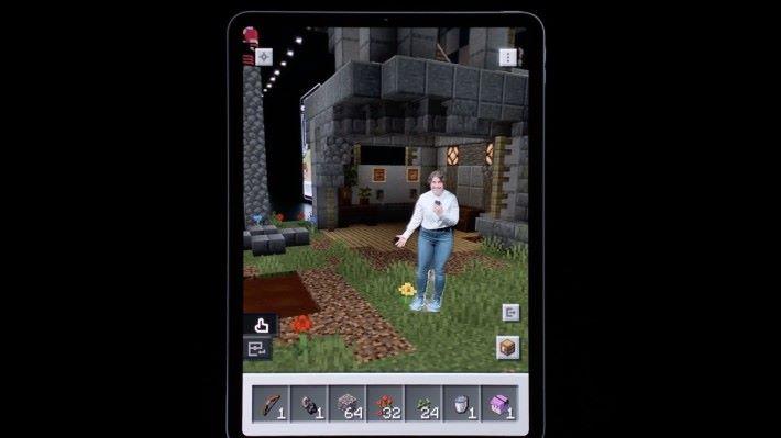 第二種模式可將玩家傳送至等身大的場景中。