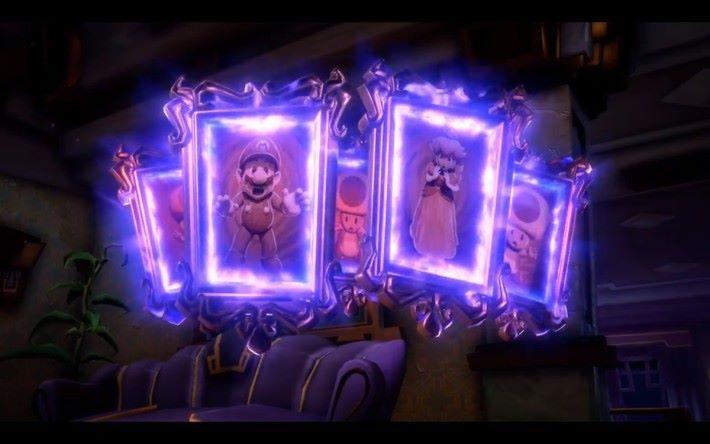 Mario 於《 Luigi Mansion 》中已經連續多集被困在畫中。