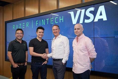 Razer FinTech 與 Visa 合作,將 Visa 預付解決方案整合到 Razer Pay 電子錢包。